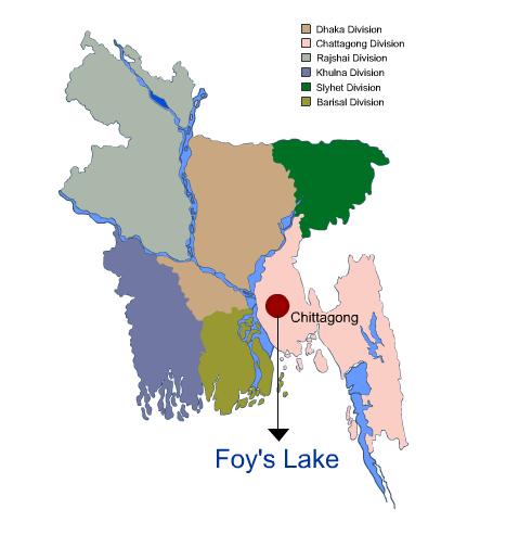 Foys-Lake Location Map